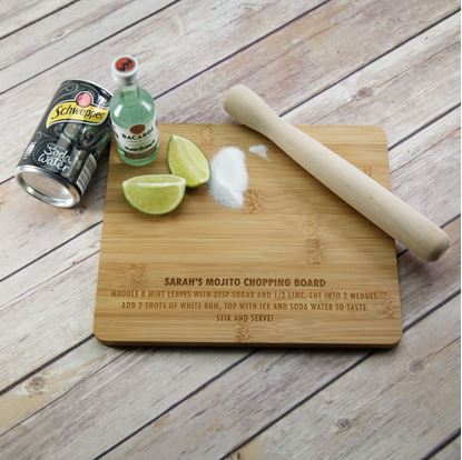 Picture of Personalised Mojito Chopping Board