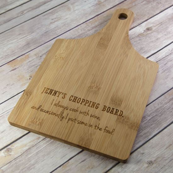 Picture of Cook with Wine Chopping Board