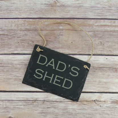 Picture of Dad's Shed Slate Sign