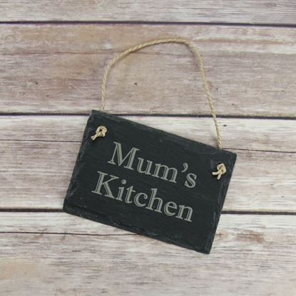 Picture of Mum's Kitchen Slate Sign