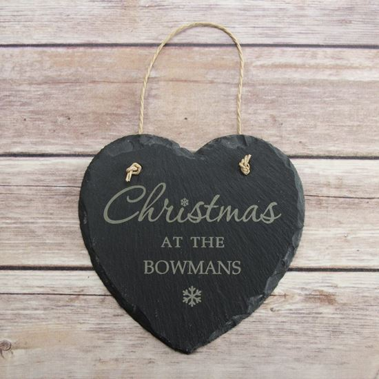 Picture of Family Christmas Sign
