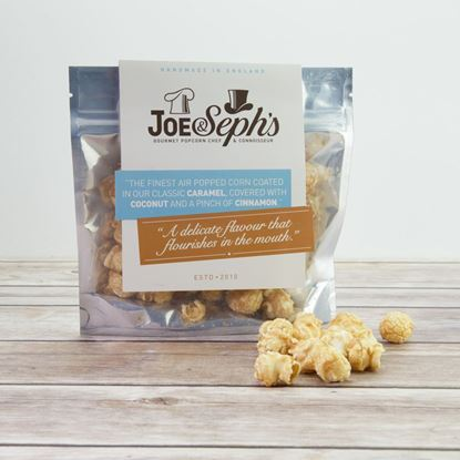 Picture of Joe & Seph's Smooth Caramel, Coconut & Cinnamon Popcorn