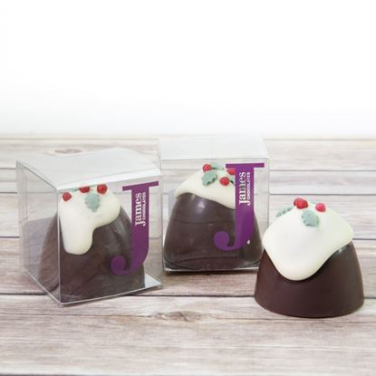 Picture of Christmas Pudding Truffle