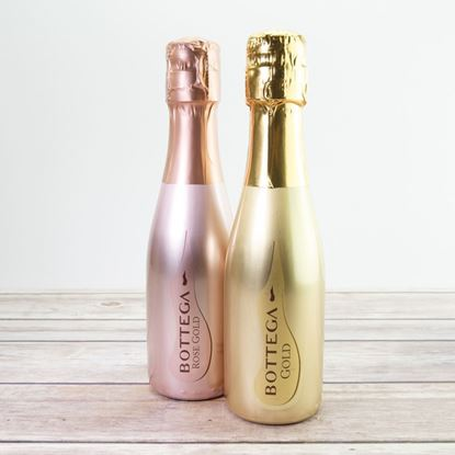 Picture of Bottega Mini Bottle of Gold or Rose Prosecco