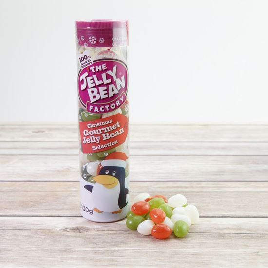 Picture of Jelly Bean Factory Christmas Jelly Bean Tube