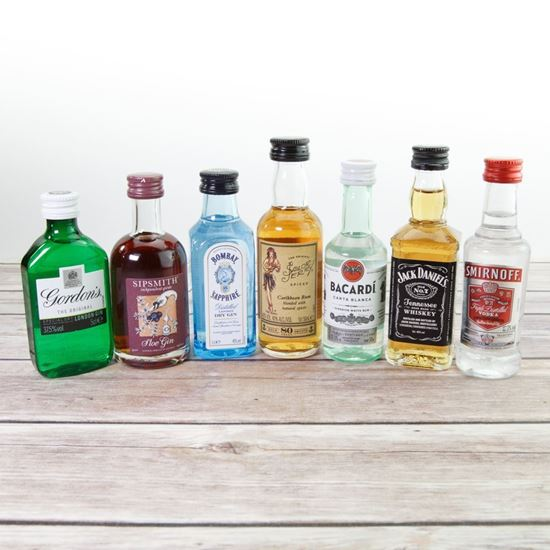 Picture of Alcoholic Miniatures