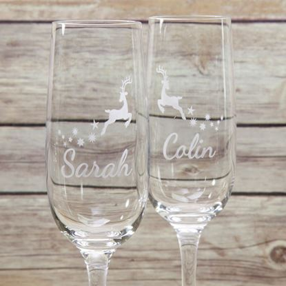 Picture of Christmas Bubbly Glass