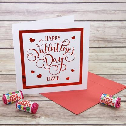 Picture of Personalised Valentine's Card