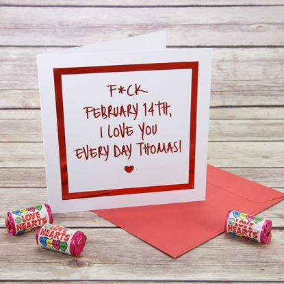 Picture of Love you Every Day Valentine's Card