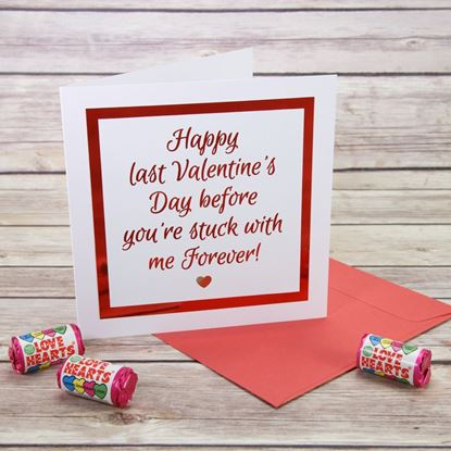 Picture of Last Valentine's Day Card