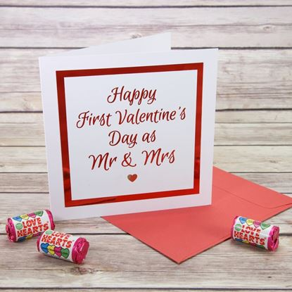 Picture of Mr & Mrs Valentine's Day Card