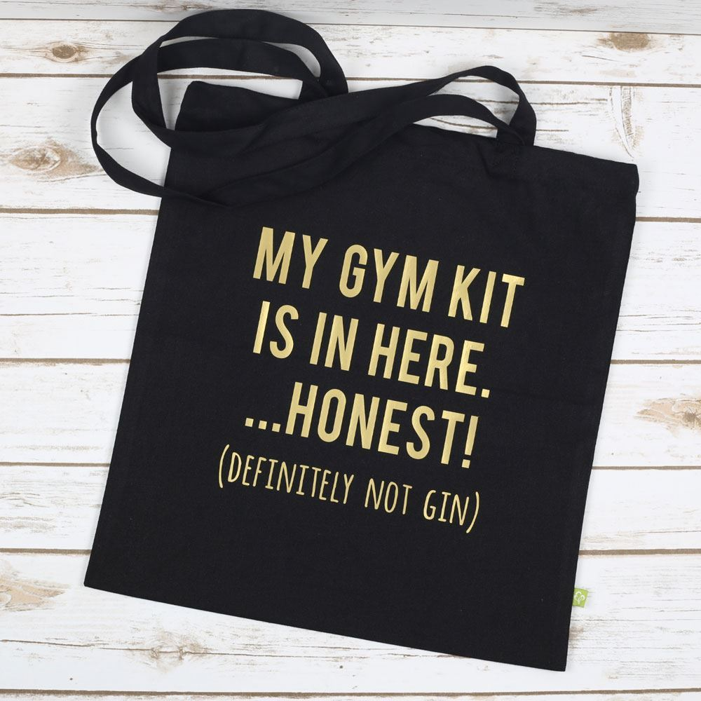 Gin and Gym Tote Bag - Prezzely aeb4f706ea