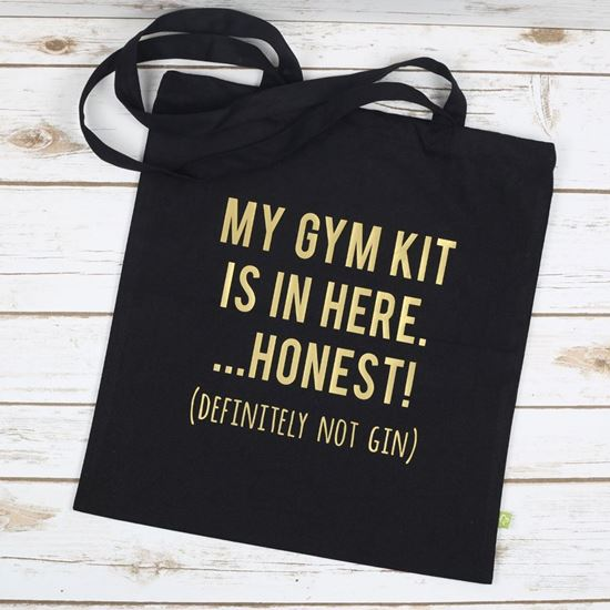 Picture of Gin and Gym Tote Bag