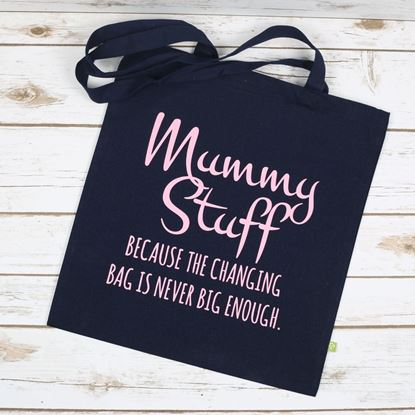 Picture of Mummy Stuff Tote Bag
