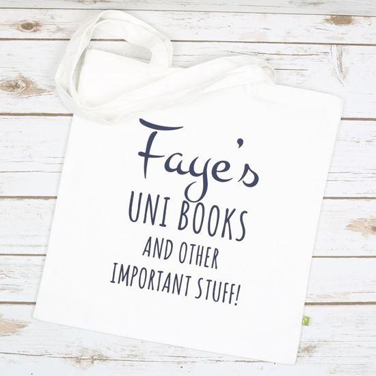 Picture of Uni Books Tote Bag