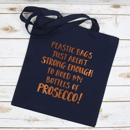 Picture of Prosecco Bottles Tote Bag