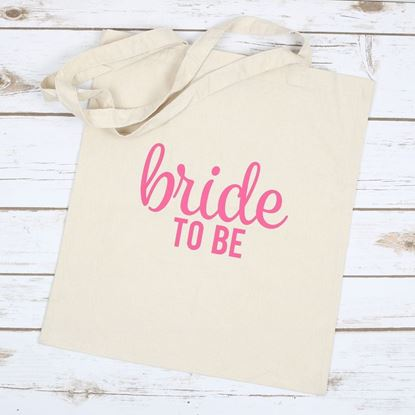 Picture of Bride to Be Tote Bag