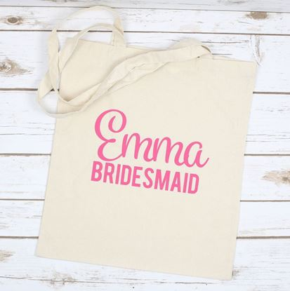 Picture of Bridesmaid Tote Bag