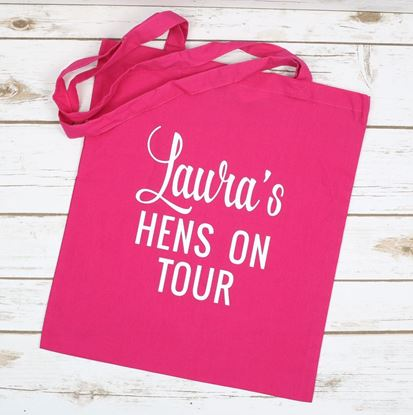 Picture of Hens on Tour Tote Bag