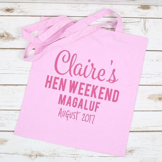 Picture of Hen Weekend Tote Bag