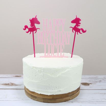 Picture of Unicorn Cake Topper