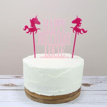 Picture of Unicorn Cake Topper