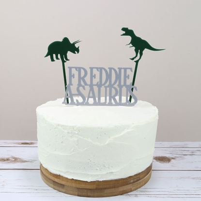 Picture of Dinosaur Cake Topper