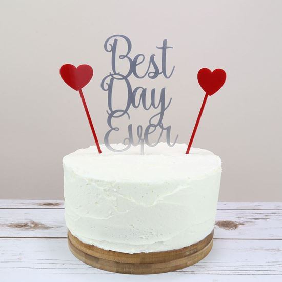 Picture of Best Day Ever Cake Topper