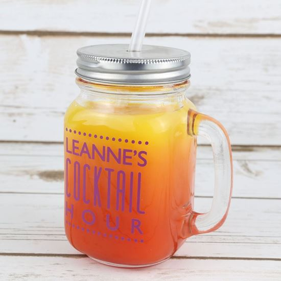 Picture of Cocktail Hour Mason Jar