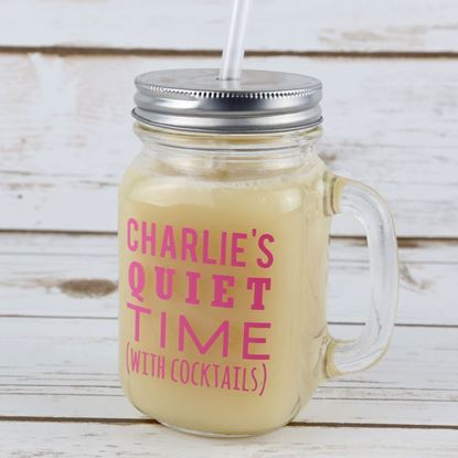 Picture of Mummy's Quiet Time Mason Jar