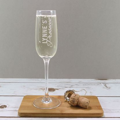 Picture of Personalised Prosecco Glass