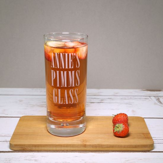 Picture of Personalised Pimms Glass