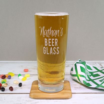 Picture of Personalised Pint Glass