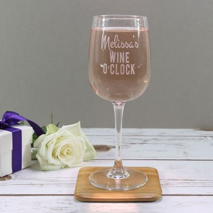 Picture of Personalised Wine Glass