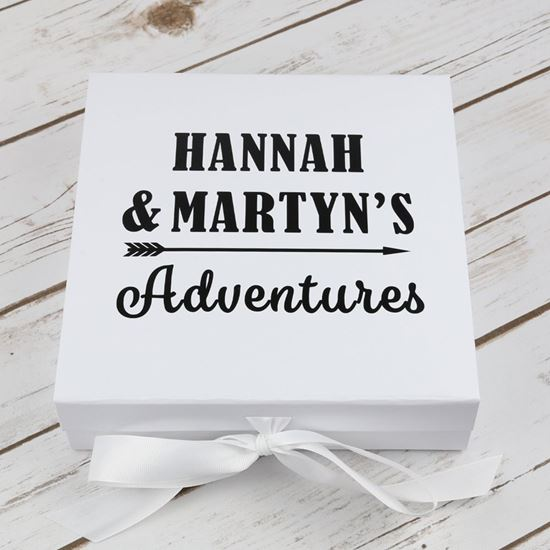 Picture of Personalised Keepsake Box