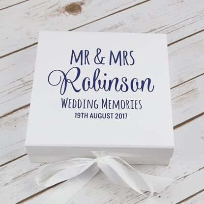 Picture of Wedding Keepsake Box