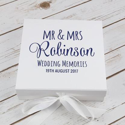 Picture of Wedding Keepsake Box