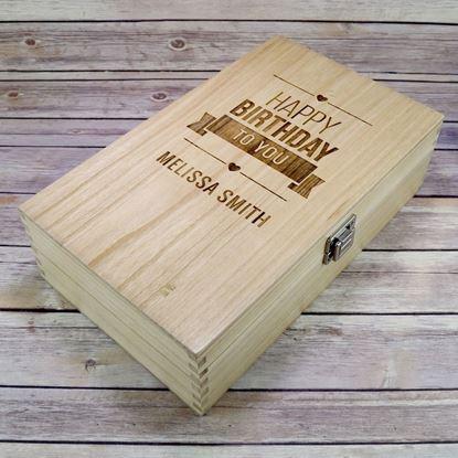 Picture of Birthday Double Wine Box
