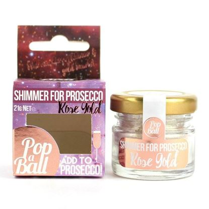 Picture of PopaBall Rose Gold Shimmer for Prosecco