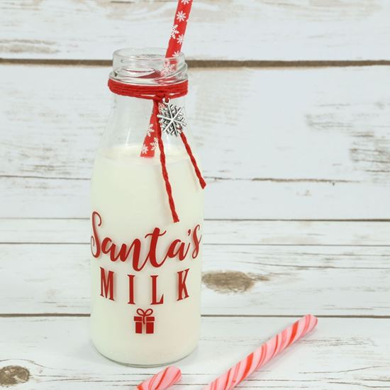 Picture of Santa's Milk Bottle