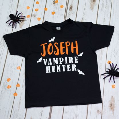 Picture of Vampire Hunter Halloween T-Shirt