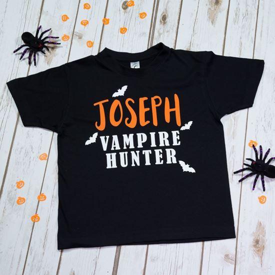 Picture of Vampire Hunter Halloween T-Shirt