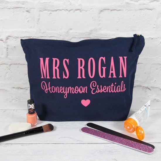 Personalised Honeymoon Essentials Bag