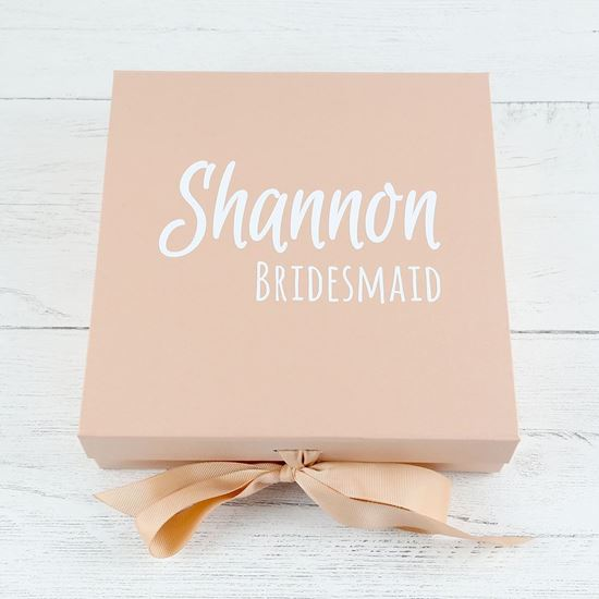 Picture of Personalised Bridesmaid Box