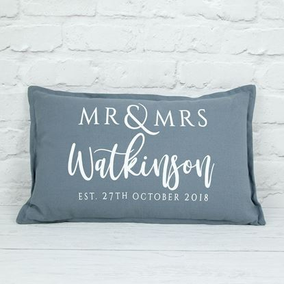 Picture of Personalised Wedding Cushion