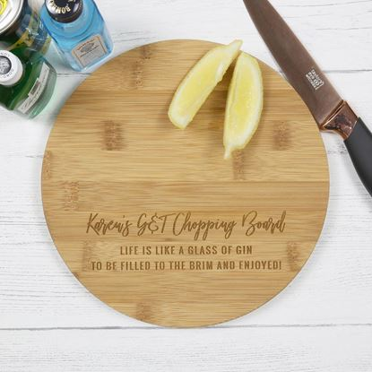 Picture of Round G&T Chopping Board