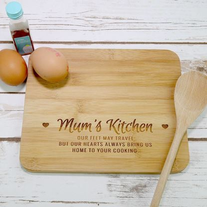Picture of Mums Kitchen Chopping Board