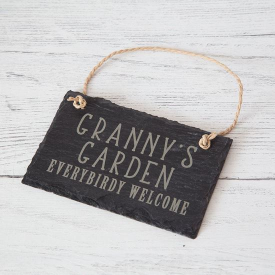 Picture of Garden Slate Sign