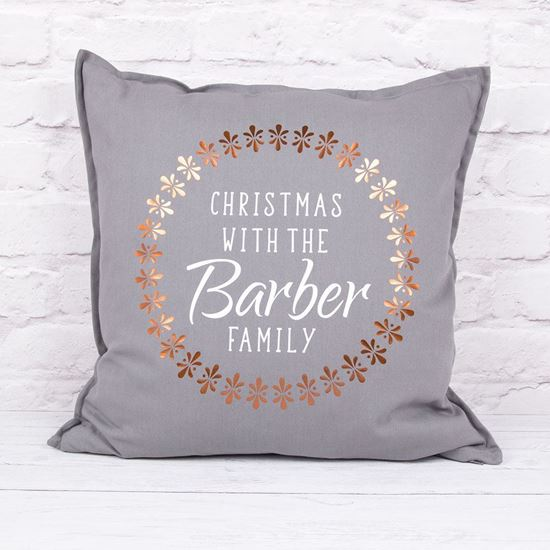 Picture of Personalised Christmas Cushion