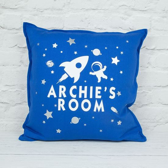 Picture of Space Bedroom Cushion